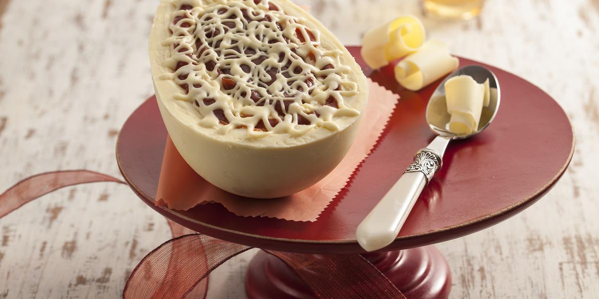 Receitas de Páscoa: Ovo Cheesecake