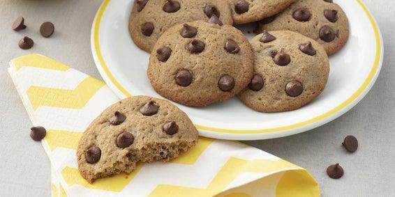 Sobremesa de páscoa: Cookies com Gotas de Chocolate ao Leite.