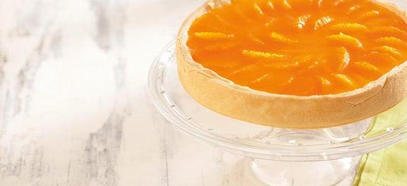 Safra de Abril: Torta Espelhada de Tangerina